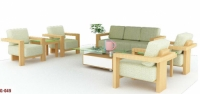 Bộ Sofa 4 ghế sồi