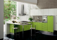 Tủ bếp phủ Laminate