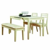 Bộ bàn ăn 2 ghế,1 băng