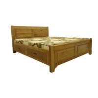 Giường ngủ  hộc kéo 2 pano