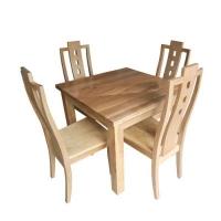 Ghế gỗ 3 lỗ mặt gỗ